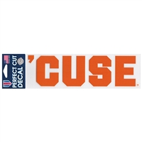 Syracuse 'cuse Decal