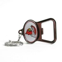 Louisville Key Chain Bottle Opener - Chrome