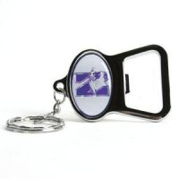 Northwestern Key Chain Bottle Opener - Chrome