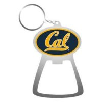 California Metal Key Chain And Bottle Opener W/domed Insert