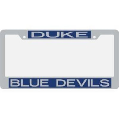 Duke Metal Inlaid Acrylic License Plate Frame