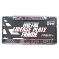 Louisville Metal Alumni Inlaid Acrylic License Plate Frame