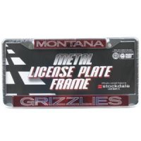 Montana Metal Inlaid Acrylic License Plate Frame