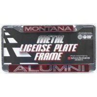 Montana Metal Alumni Inlaid Acrylic License Plate Frame