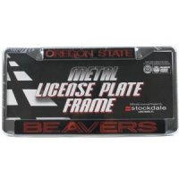 Oregon State Metal Inlaid Acrylic License Plate Frame