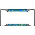 Ucla Metal Alumni Inlaid Acrylic License Plate Frame
