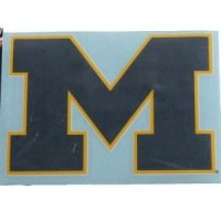 "Michigan 4""x4"" Transfer Decal"