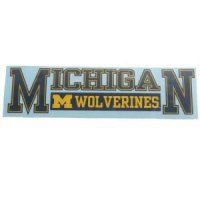 "Michigan 3""x10"" Transfer Decal - Color"