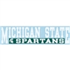 "Michigan State 3""x10"" Transfer Decal - Color"