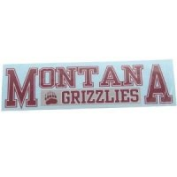 "Montana 3""x10"" Transfer Decal - Color"