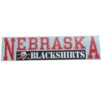 "Nebraska 3""x10"" Transfer Decal - Color"