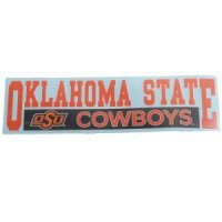 "Oklahoma State 3""x10"" Transfer Decal - Color"
