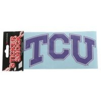 "Tcu 4""x6"" School Transfer Decal - Color"