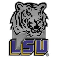 Lsu Pewter Hitch Receiver Cover
