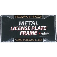 Idaho Vandals Metal Inlaid Acrylic License Plate Frame