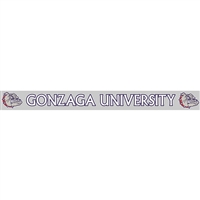 Gonzaga Bulldogs Decal Strip - Gonzaga University With Mascot