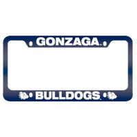Gonzaga Bulldogs Full Color Metal License Plate Frame