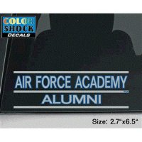 TeamStores.com - Air Force Falcons Decal - Air Force Academy Over Alumni