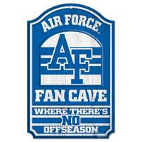 Air Force Falcons Fan Cave Wood Sign