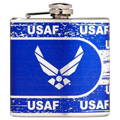 Air Force Falcons Stainless Steel Hip Flask