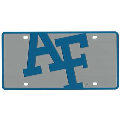 Air Force Falcons Full Color Mega Inlay License Plate