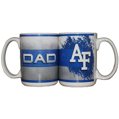 Air Force Falcons 15oz Ceramic Mug - Dad