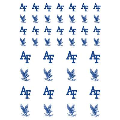Air Force Falcons Small Sticker Sheet - 2 Sheets