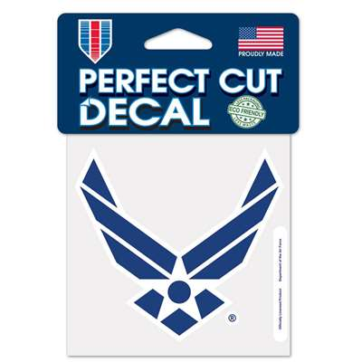 "Air Force Falcons Full Color Die Cut Decal - 4"" X 4"""