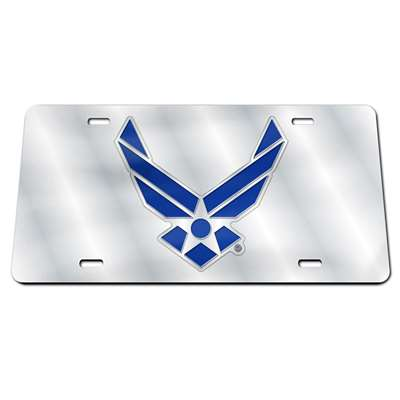 Air Force Falcons Steel License Plate