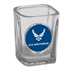 Air Force Falcons Shot Glass - Metal Logo