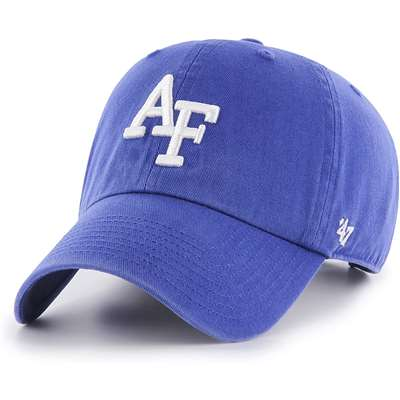 Air Force Falcons '47 Brand Clean Up Adjustable Hat - Royal