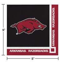 Team Color Jarden Sports Licensing NCAA Arkansas Razorbacks Tailgate Kit One Size