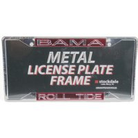 Alabama Crimson Tide Metal Inlaid Acrylic License Plate Frame - Bama/roll Tide