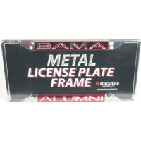 Alabama Crimson Tide Metal Alumni Inlaid Acrylic License Plate Frame