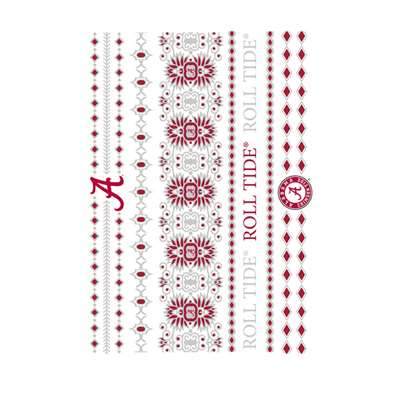 Alabama Crimson Tide Jewelry Flash Tattoos