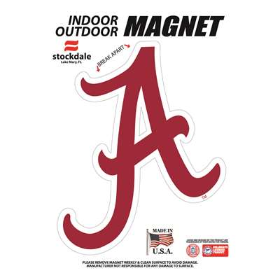 "Alabama Crimson Tide Magnet - 4.5"" x 5"""