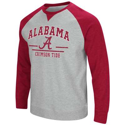 Alabama Crimson Tide Colosseum Turf Fleece Crew Sweatshirt