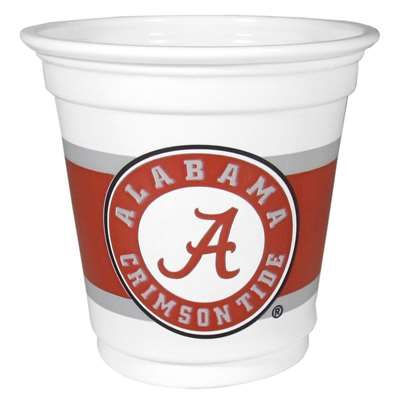 Alabama Crimson Tide Mini Plastic Gameday Cup - 18 Count