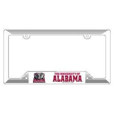 Alabama License Plate Frame - Plastic