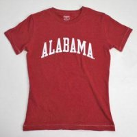 Alabama T-shirt - Ladies By League - Maroon