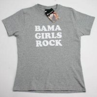 Alabama T-shirt By Champion - Bama Girls Rock - Oxford Heather