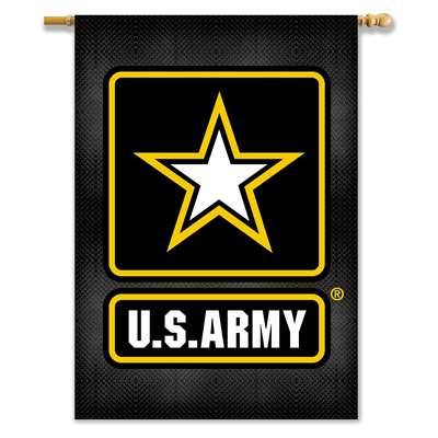 "Army Black Knights 2-sided Premium 28"" X 40"" Banner"