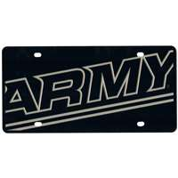 Army Black Knights Full Color Mega Inlay License Plate