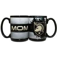 Army Black Knights 15oz Ceramic Mug - Mom