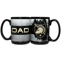Army Black Knights 15oz Ceramic Mug - Dad
