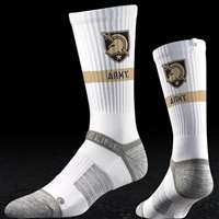 Army Black Knights Strapped Fit 2.0 Socks - White