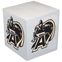 Army Black Knights Sticky Note Memo Cube - 550 Sheets