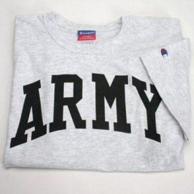 champion army t shirt