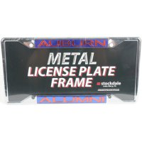 Auburn Tigers Metal Alumni Inlaid Acrylic License Plate Frame