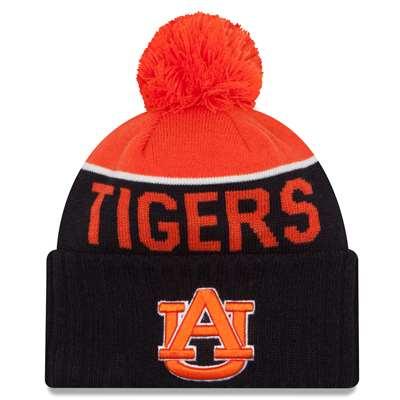 Auburn Tigers New Era Sport Knit Pom Beanie